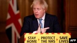 ARHIVA - Britanski premijer Boris Džonson