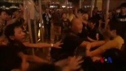 香港旺角爆发大规模冲突