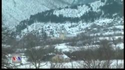 Mot i ashpër në veri të Shqipërisë