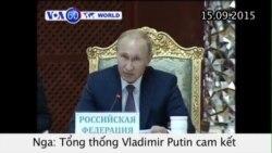 Ông Putin cam kết hỗ trợ quân sự cho Syria (VOA60)