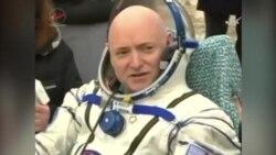 美国万花筒:在太空一年 NASA宇航員返回地球