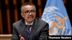 Генеральний директор Всесвітньої організації охорони здоров'я Тедрос Адганом Гебреєсус