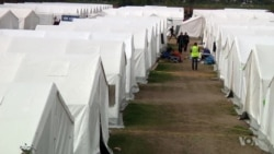 Austria Prepares its Largest Refugee Camp for Winter