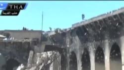 敘利亞戰鬥摧毀了歷史遺跡