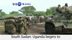 VOA60 Africa - South Sudan: Uganda begins to withdraw army from the region