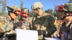 2016-11-18 美國之音視頻新聞: 美中舉行第四輪人道救援實兵演練