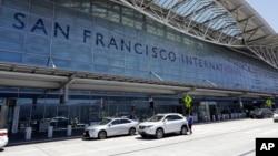 Phi trường quốc tế San Francisco, nơi hàng trăm du học sinh Việt Nam bị kẹt lại vào ngày 2/5/2020 vì chuyến bay bị hoãn.