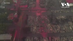 Місто Телент, штат Орегон, після лісових пожеж. Відео