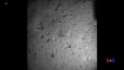 日本深層太空探測器成功登陸小行星