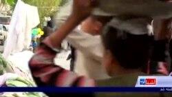 کودکان در عید، تفنگچه پلاستیکی میخرند