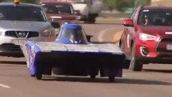 خودروی خورشیدی غزال ۳ در مسابقات استرالیا به رقابت می پردازند