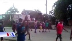 Căng thẳng tại Cuba: Người biểu tình 'đả đảo chủ nghĩa cộng sản'