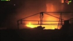 Mortal explosión e incendio en Ghana