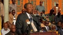 Ping rejette l'appel au dialogue lancé par Bongo (vidéo)