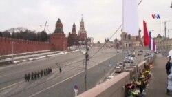 Boris Nemtsovun qətlində şübhəli bilinənlərin məhkəməsi keçirilib