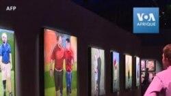 L'ancien président George W. Bush expose ses peintures de vétérans à Washington