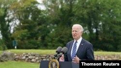 El presidente de EE. UU., Joe Biden hizo el hitórico anuncio el jueves 10 de junio de 2021 en Reino Unido.