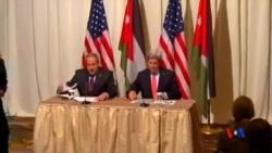 2015-02-04 美國之音視頻新聞: 美國向約旦增加援助