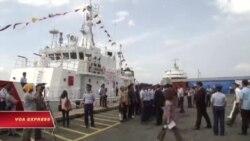 Philippines nhận 10 tàu tuần duyên đầu tiên của Nhật để tăng cường an ninh