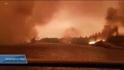 California'da Yangın Can Almaya Devam Ediyor