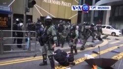 Manchetes Mundo 13 Novembro: Polícia em Hong Kong prepara-se para mais confrontos
