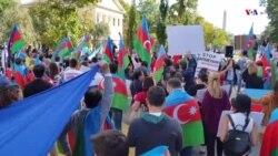 Ադրբեջանցիները բողոքի ցույց են արել Սպիտակ տան դիմաց