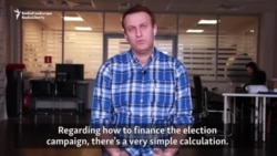 Russian Opposition Leader Aleksei Navalny Lays Out Campaign Finance Plan