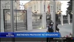 Maqedoni, rikthehen protestat