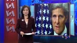 VOA连线:美:日了解美不支持付ISIL赎金立场;克里国务卿抵达达沃斯论坛 将谈反恐