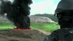 巴拿馬燒毀超過九噸毒品