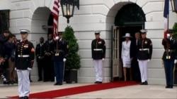 Tramp dočekao Makrona u Beloj kući
