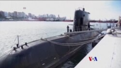 2017-11-19 美國之音視頻新聞: 阿根廷加緊搜救失蹤的海軍潛艇 (粵語)