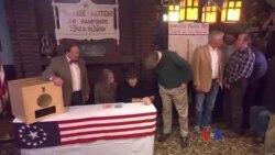 2016-02-09 美國之音視頻新聞: 新罕布什爾州初選開始