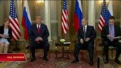 Trump: Cuộc họp với Putin là khởi điểm tốt