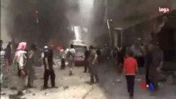 2014-06-29 美國之音視頻新聞: 大馬士革汽車炸彈爆炸兩人死