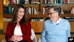 Bill e Melinda Gates, Kirkland, Washington, 2019