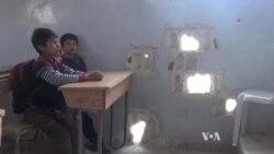 Classes Resume in War-Torn Kobani