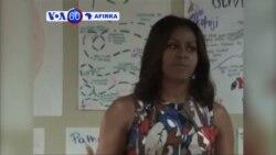 VOA60 AFIRKA: LIBERIA Uwargida Michelle Obama ta Kaddamar da Wani Rangadin Kasashe Uku