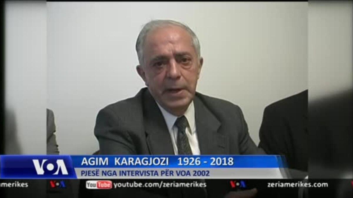 Në kujtim të ish-kryetarit të Vatrës Agim Karagjozi