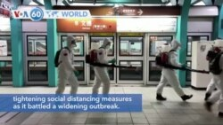 VOA60 World - Taiwan raises its coronavirus alert level