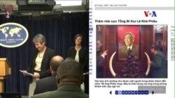 Quan chức Mỹ và chuyện 'ngà voi của ông Lê Khả Phiêu'