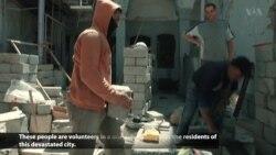 Mosul Volunteers Rebuild What IS Destroyed