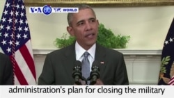 VOA60 World PM - Obama: Guantanamo Bay Prison Undermines National Security