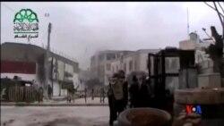 2015-03-29 美國之音視頻新聞:基地組織佔領了敘利亞北部重要城市
