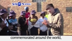 VOA60 Africa - South Africans urged to open up to refugees