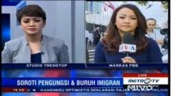 Laporan Langsung VOA untuk MetroTV: KTT Pengungsi dan Migran PBB