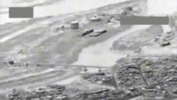 US Department of Defense Video: Airstrike on IS-Held Bridge Near Tikrit