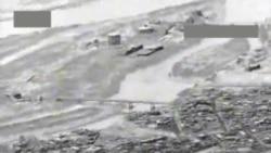US Department of Defense Video: Airstrike on IS-Held Bridge Near Tikrit