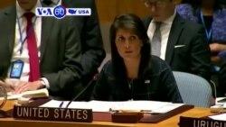Manchetes Americanas 12 Setembro: Embaixadora Nikki Haley mantém posição dura dos EUA