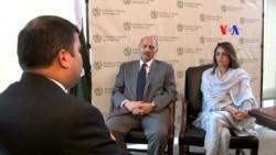 سفارت کاری کی کوششیں، دو ارکان پر مشتمل وفد کی واشنگٹن آمد